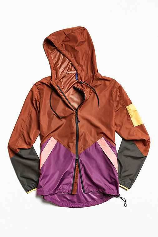 Without Walls Run Jacket,BROWN,XL