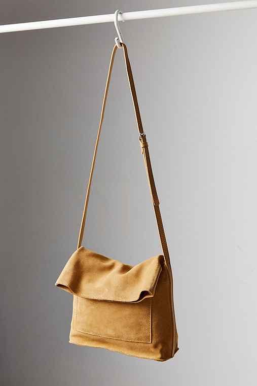 BDG Lindstrom Fold Crossbody Bag,BROWN,ONE SIZE