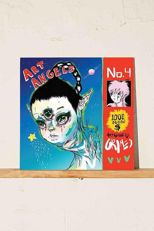 Grimes - Art Angels LP,BLACK,ONE SIZE