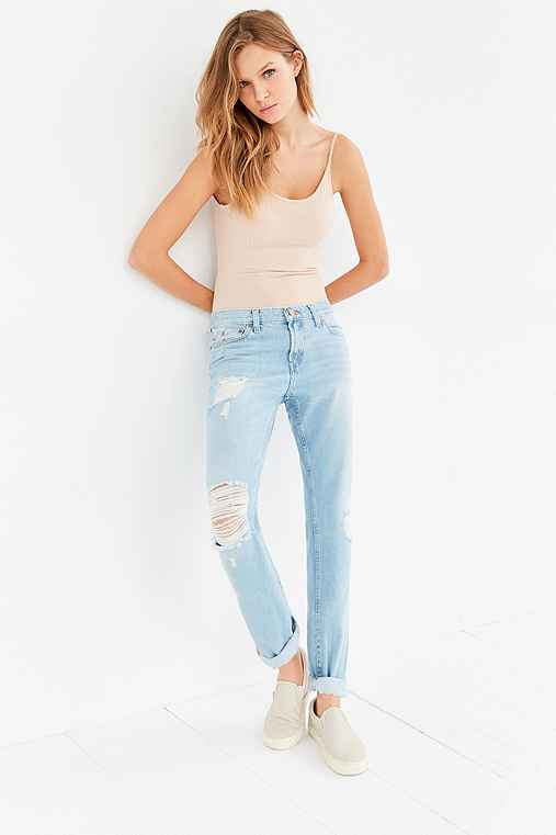 BDG Slim Boyfriend Jean - Vintage Denim Slash,VINTAGE DENIM MEDIUM,31