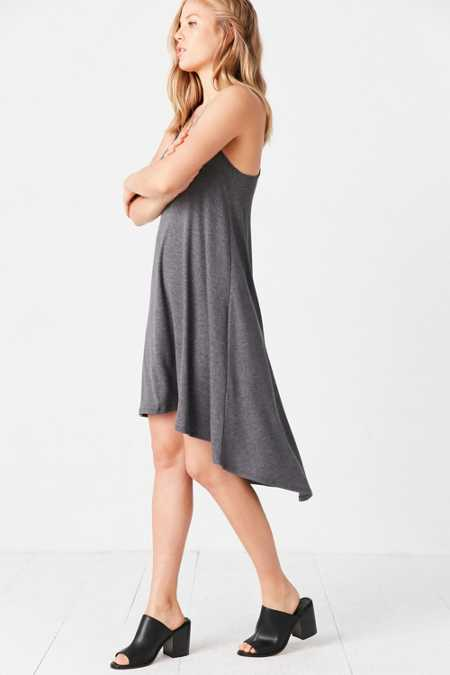 Ecote Knit High/Low Tee Dress