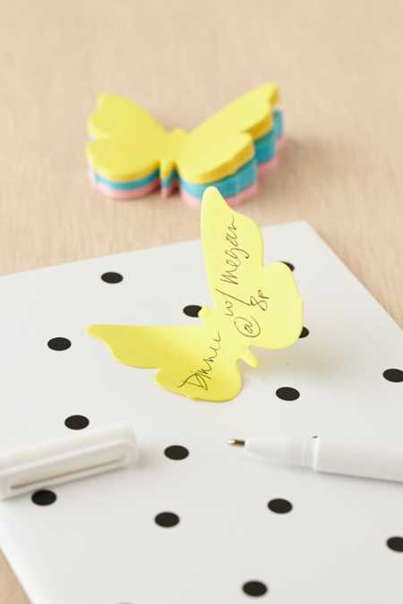 Butterfly Sticky Notes Pack