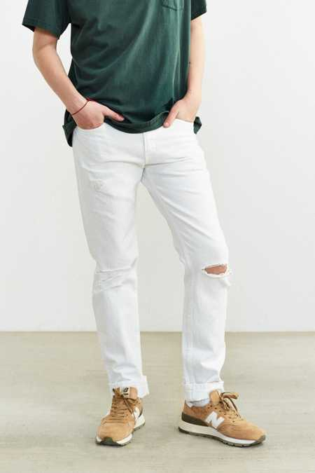 Levi's 511 Whiteout Destructed Slim Jean