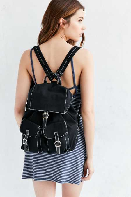 Cooperative Canvas Buckle Backpack