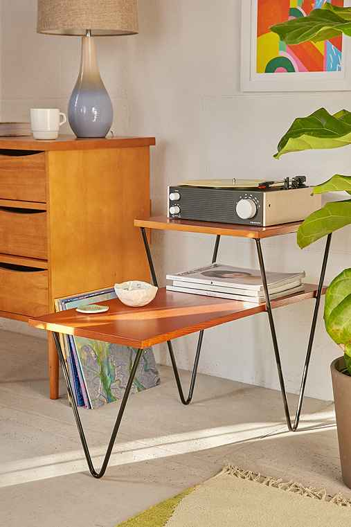 Pavo Side Table,BROWN,ONE SIZE