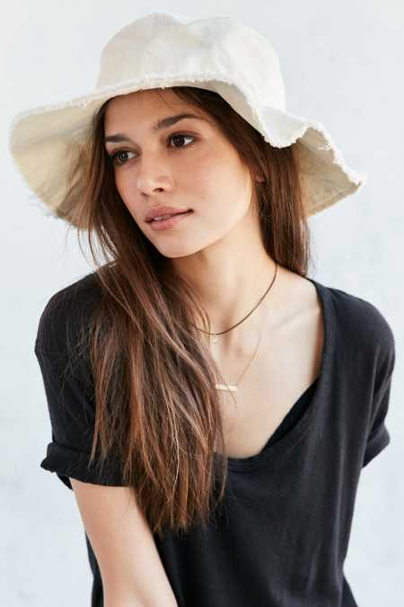 Washed Canvas Sun Hat
