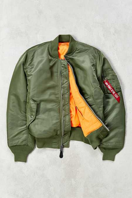 Alpha Industries Classic-Fit MA-1 Bomber Jacket
