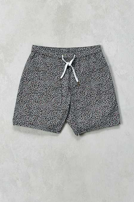 Barney Cools Leaf Print Beach Short