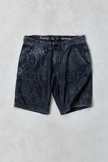 Publish Fisk Patched Chambray Short