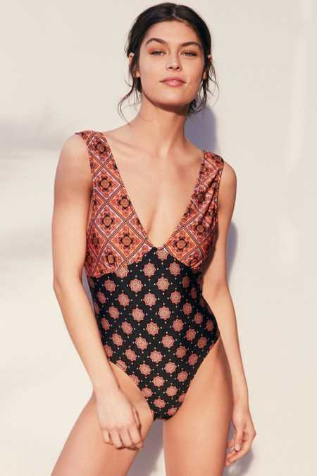 Somedays Lovin Story Teller One-Piece Swimsuit