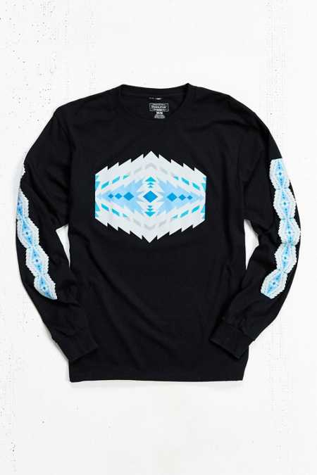 Pendleton Printed Long-Sleeve Tee