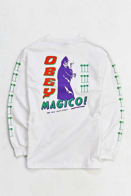 OBEY El Magico Long-Sleeve Tee
