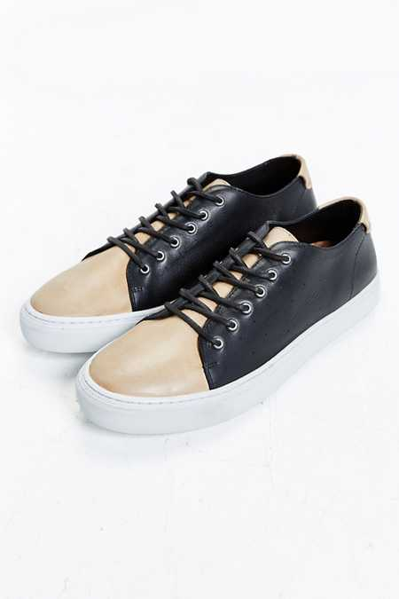 UO Two-Tone Leather Cupsole Sneaker