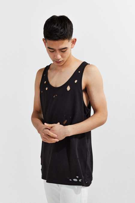 Cheap Monday X UO Destroyed Tank Top