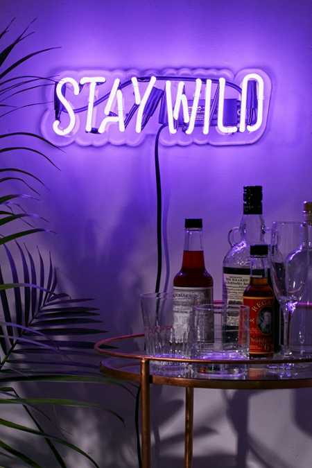 Neon Mfg. Neon Stay Wild Sign