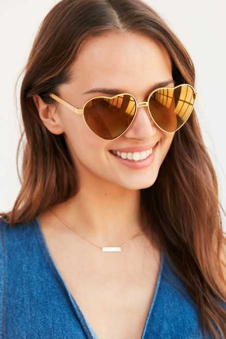 Sunset Heart Frame Sunglasses