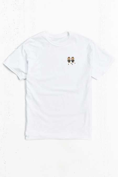 Dancing Girls Emoji Embroidered Tee