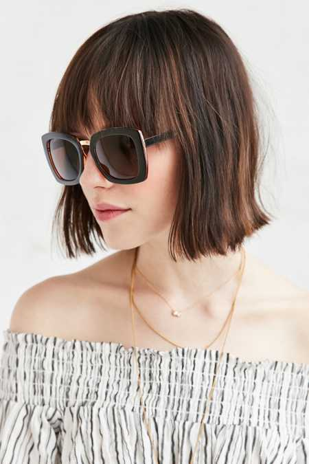 Kerry Boxy Square Sunglasses