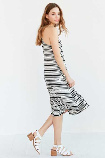 BDG Variegated Stripe Midi Dress