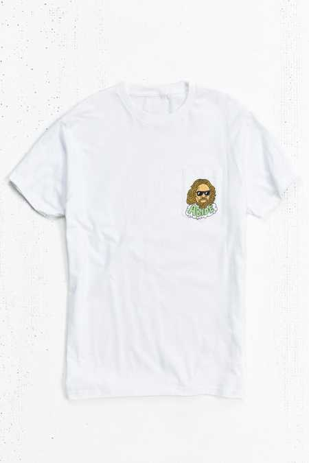 The Dude Abides Pocket Tee