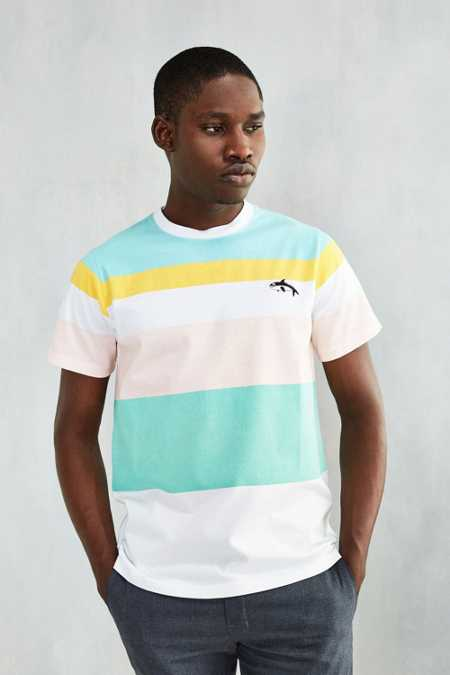 Lazy Oaf Killer Whale Stripe Tee
