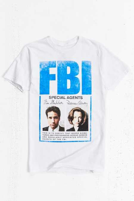 The X-Files FBI Tee