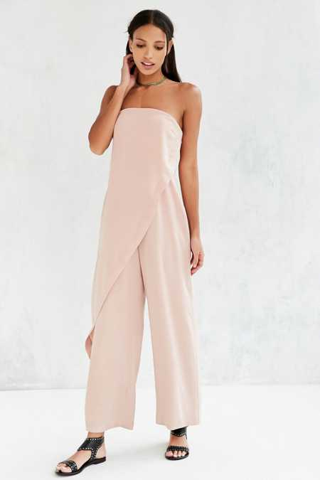 Keepsake Nude Visionary Jumpsuit