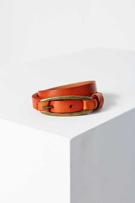 Leather Tab Belt