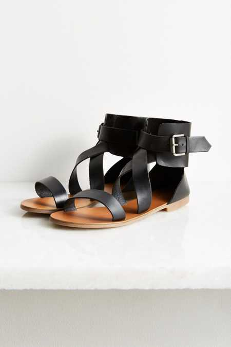 Tall Morgan Leather Sandal