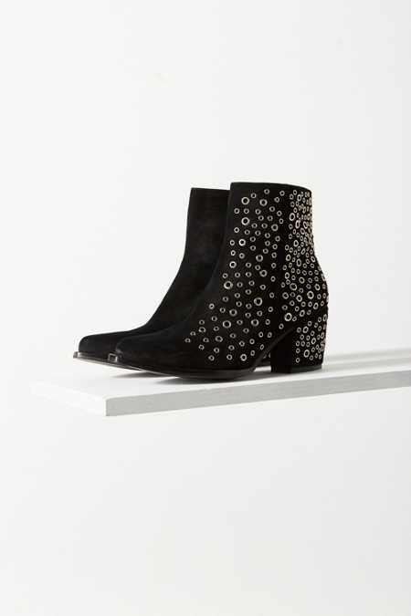 Jeffrey Campbell Bravado Eyelet Ankle Boot