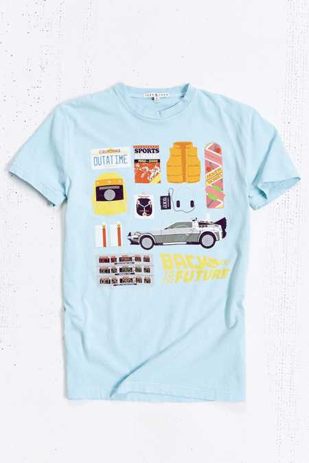 Junk Food Back To The Future Icon Tee