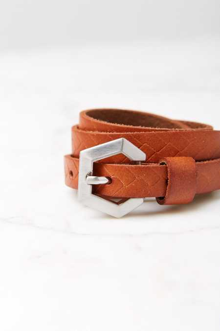 Thin Half Moon Waist Belt