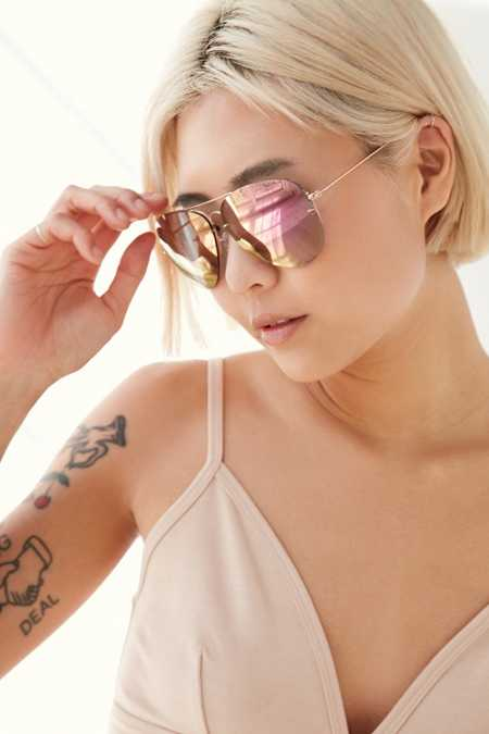 Miami Flash Aviator Sunglasses
