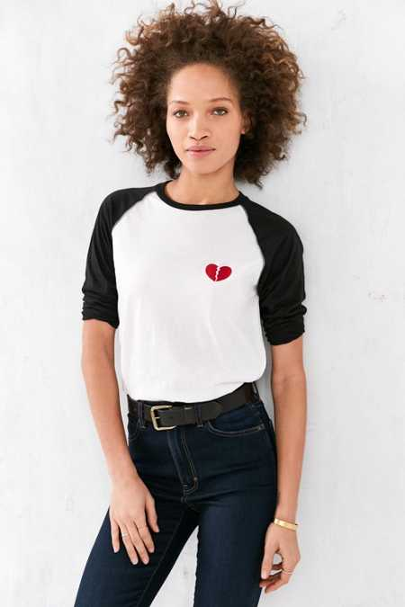 Camp Collection Lonely Hearts Baseball Tee