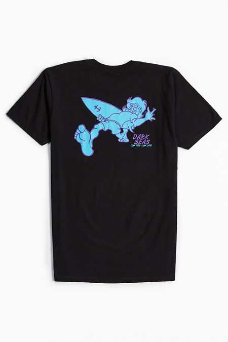 Dark Seas Surfing Bird Tee