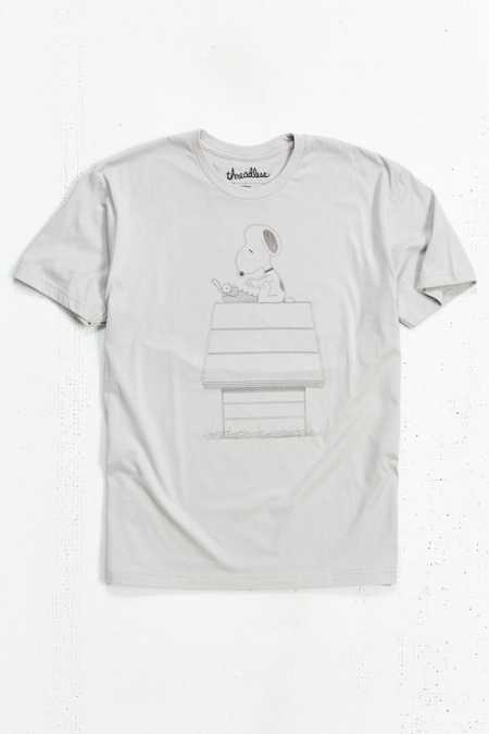 Snoopy Typing Tee