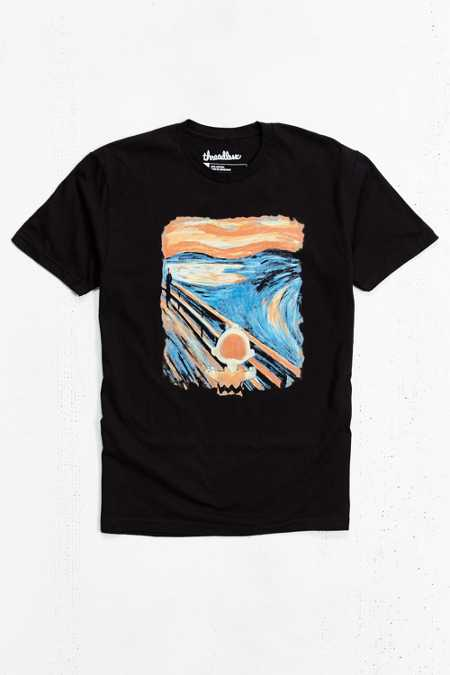 Charlie Brown Scream Tee