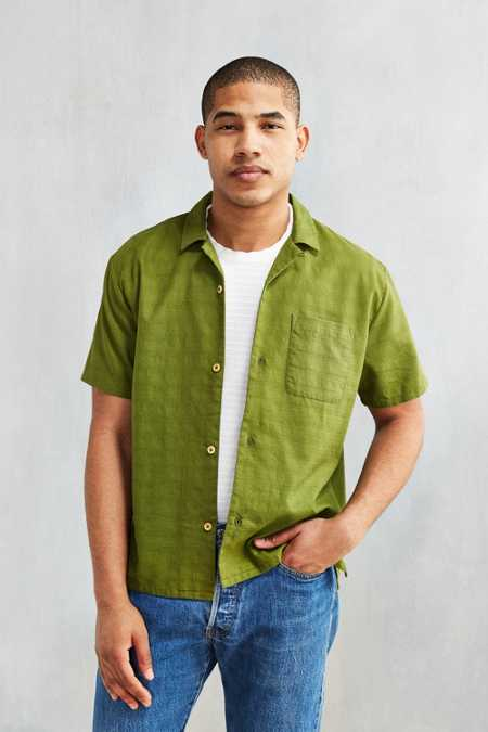 CPO Textured Camp Shirt