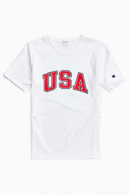 Champion Reverse Weave USA Heritage Tee