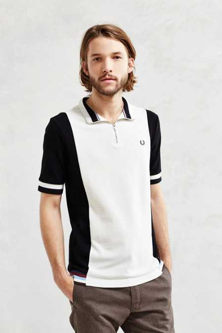 Fred Perry Contrast Panel Cycling Tee