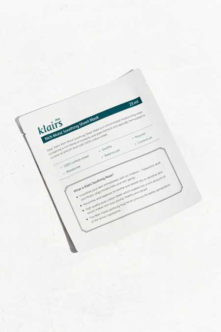 Klairs Soothing Sheet Mask