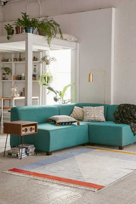 Elliot Custom Sectional Sofa