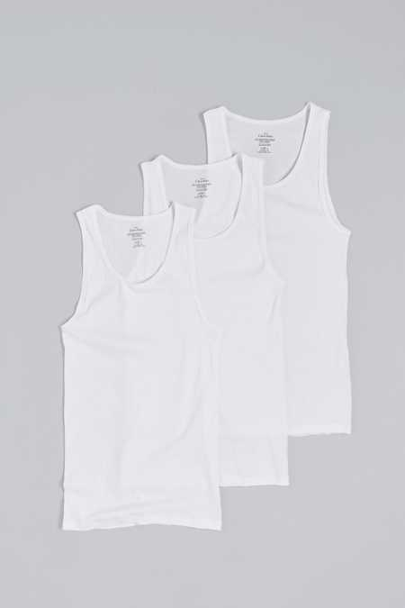 Calvin Klein Ribbed Tank Top 3-Pack