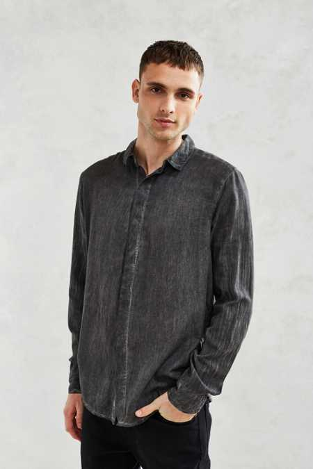 Neuw Enkel Pigment Dye Button-Down Shirt