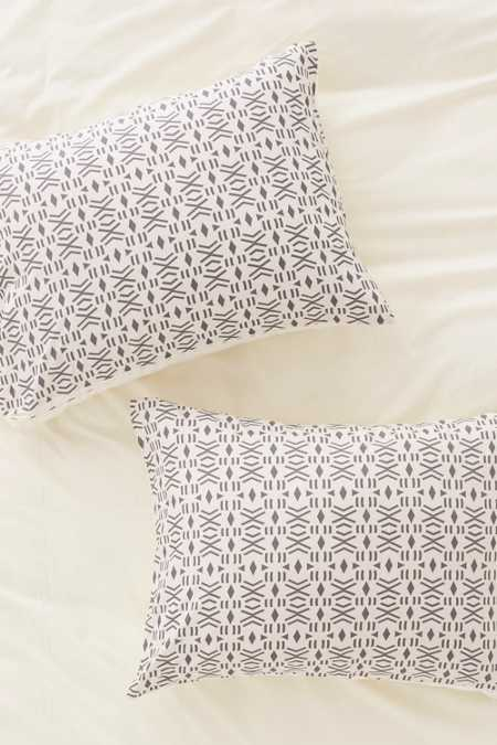 Holli Zollinger For DENY Geo Mudcloth Pillowcase Set