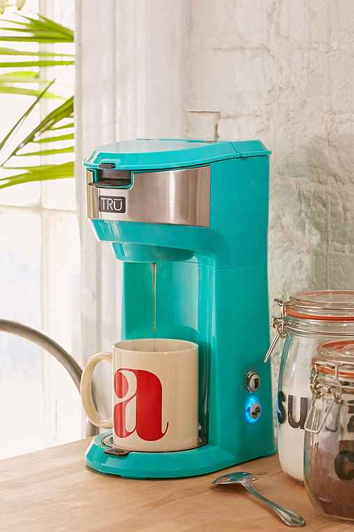 Single Brew Coffee Maker,TURQUOISE,ONE SIZE