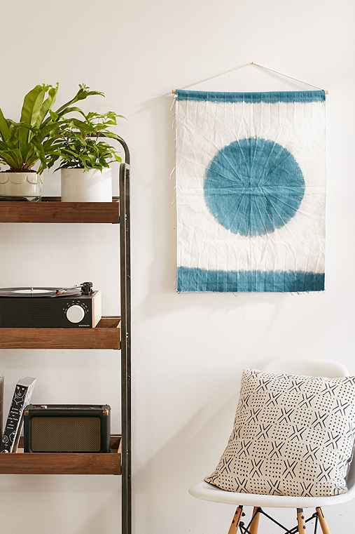 Bazin Wall Hanging,GREEN,ONE SIZE