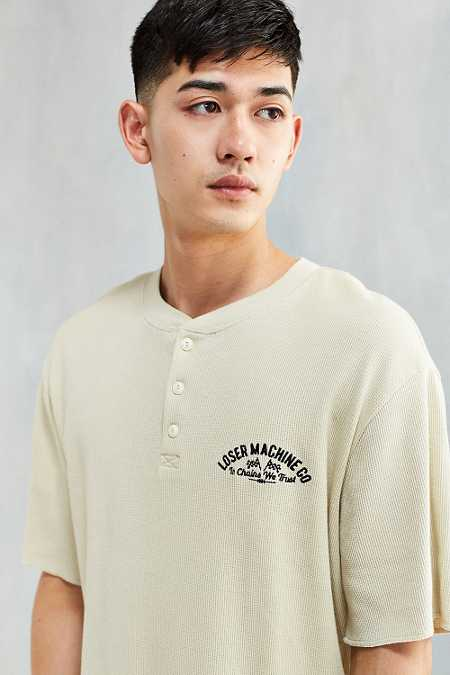 Loser Machine Newman Thermal Henley Tee
