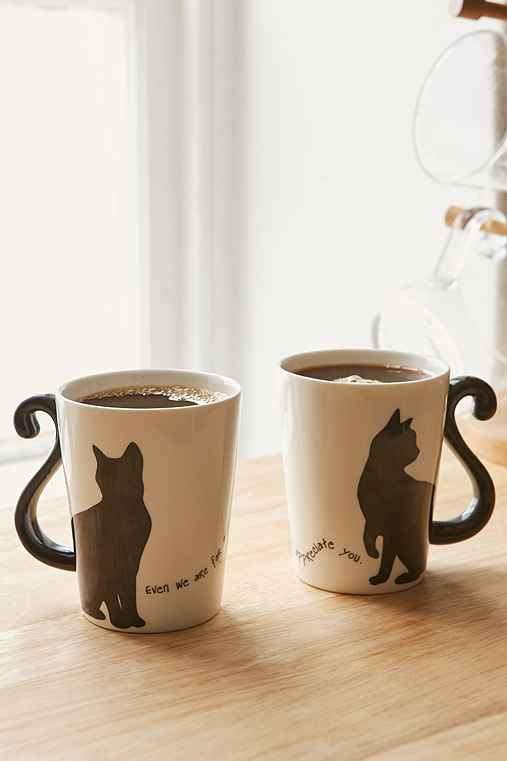 Cat Couple Mug - Urban Outfitters