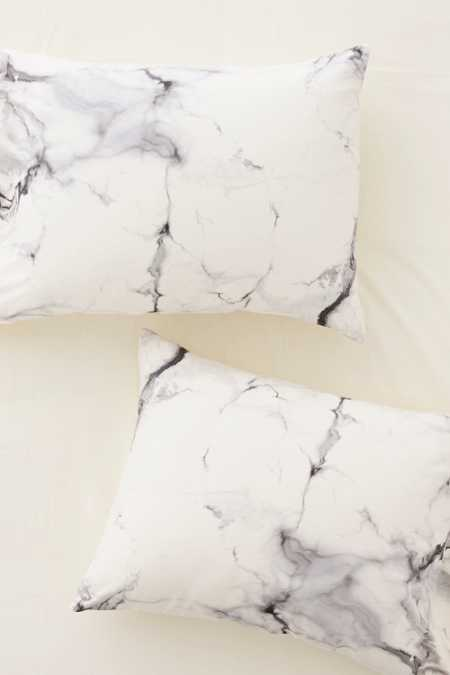 Chelsea Victoria For DENY Marble Pillowcase Set